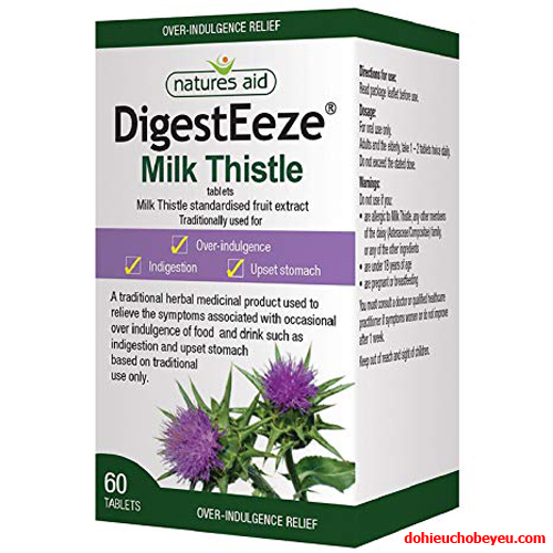 Vien-uong-bo-gan-Digest-Eeze-Milk-Thistle-uk-60-vien